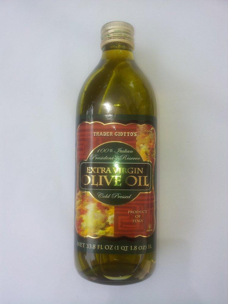 Trader Joe's President's Reserve Cold Pressed Extra Virgin Olive Oil