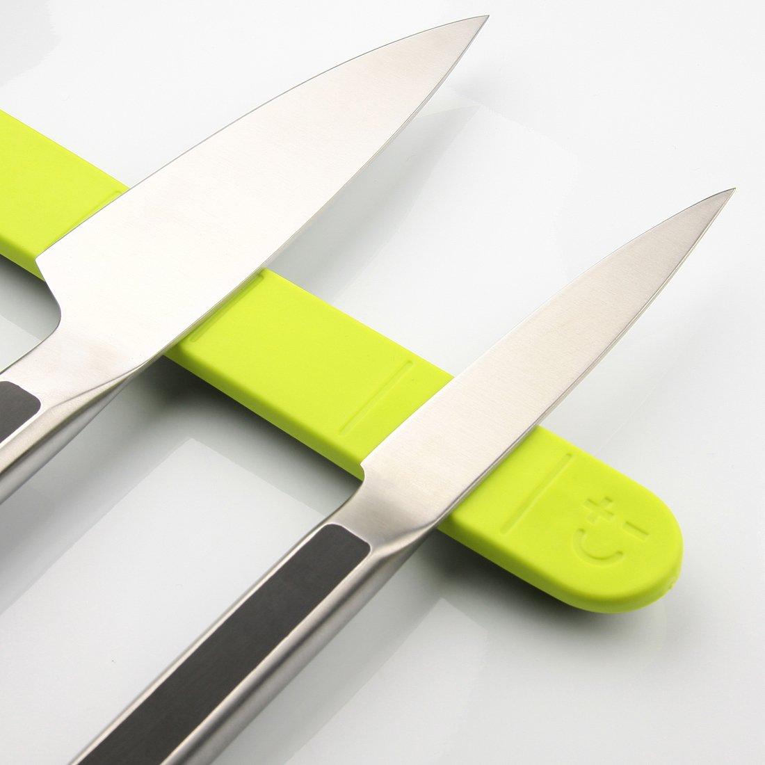 beyond the block cool kitchen knife storage abode