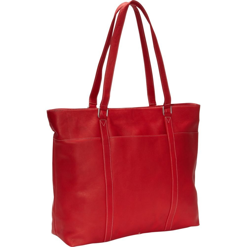 Le Donne Leather Women's Laptop Tote Bag, Red, Medium by Le Donne Leather