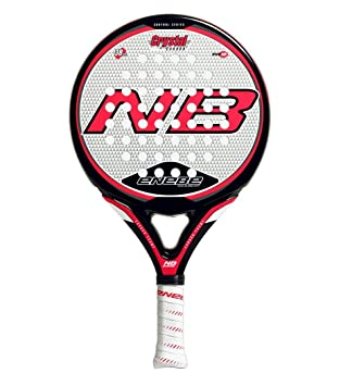 PALA PADEL CRYSTAL CARBON 7.1. CON FUNDA - ENEBE: Amazon.es ...