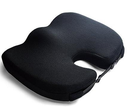 BMDHA Cojín De Asiento para Silla De Oficina Protección contra El Acné Algodón De Memoria Amortiguar