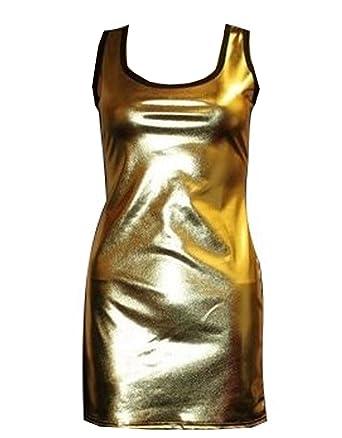 Insanity Damen Top Gold Gold M