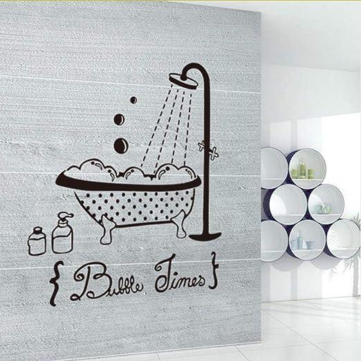 Lglays Baño De La Piscina Vinilo Adhesivo De Pared Decoración Para ...