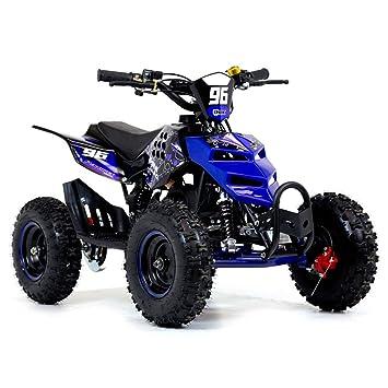 Quad mini con motor de 2 tiempos de 49 cc, ruedas de 6 pulgadas (