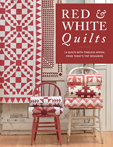 red and white quilt - 3