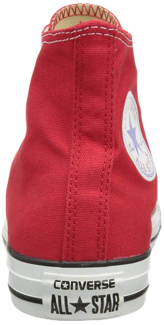 Converse Unisex Chuck Taylor All Star Low Top Red Sneakers - 6.5 D(M) US by Converse (Image #2)