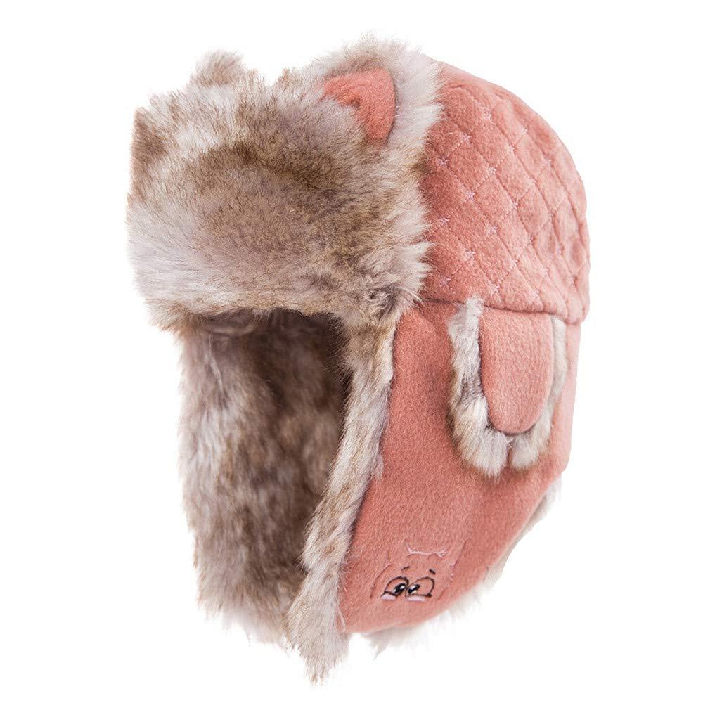 Pandady Mujer trampero Sombrero de Invierno Sombrero de oído ...