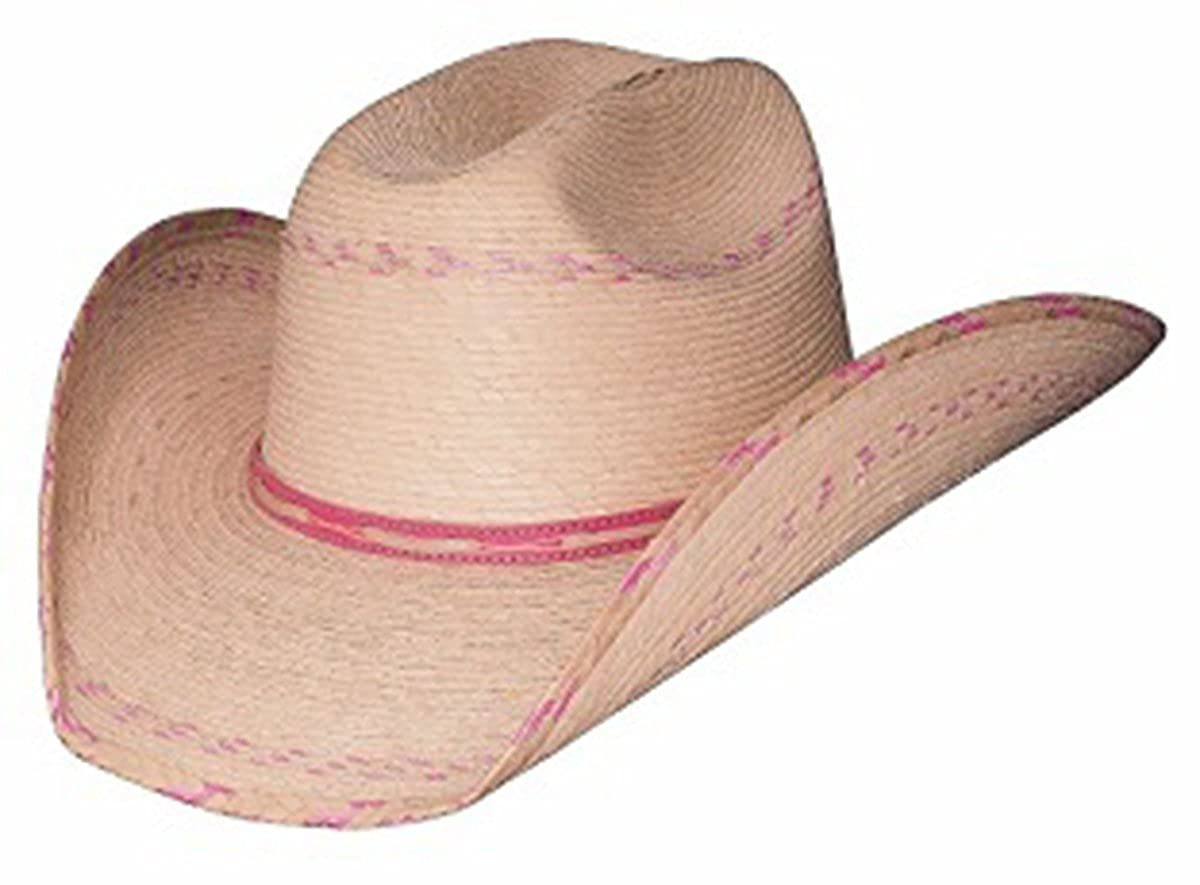 Bullhide Girls' Candy Kisses Straw Cowgirl Hat Natural One Size Bullhide Hats 2458