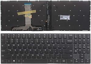 New Laptop Replacement Keyboard Fit Lenovo Legion Y520-15IKB Y720-15IKB US Layout Backlight