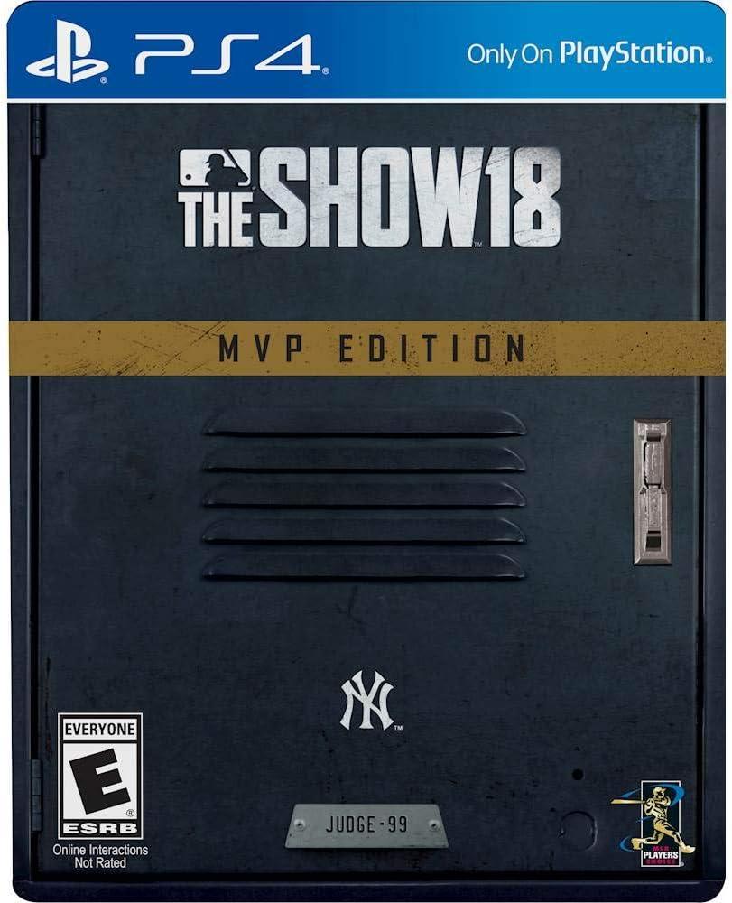 Amazon.com: PS4 MLB 18 el Show – MVP Edition: Sony ...