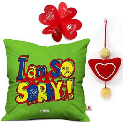 Buy Indi ts I Am So Sorry Quote Cushion Cover 12