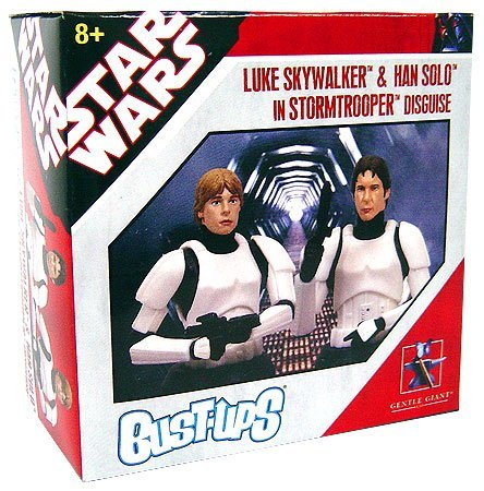 Luke Skywalker Stormtrooper Disguise (Star Wars 2007 World Tour Exclusive Bust-Up Luke Skywalker & Han Solo in Stormtrooper Disguise)