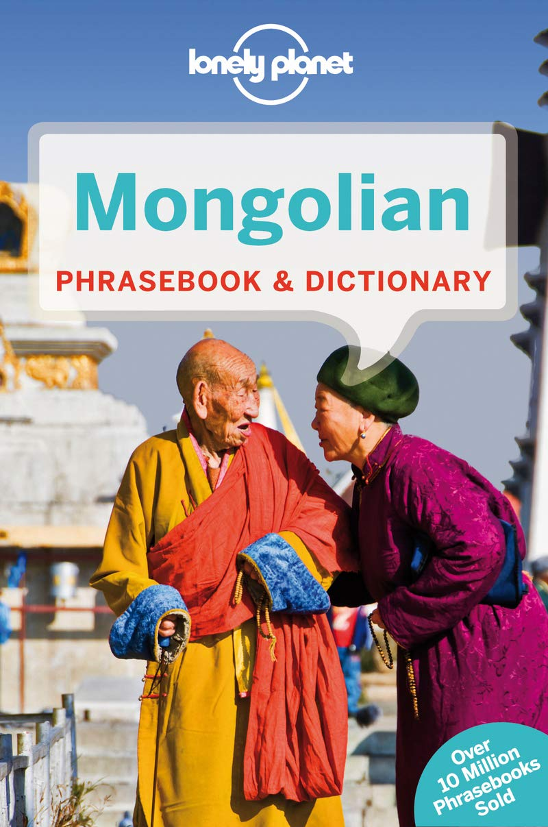 Lonely Planet Mongolian Phrasebook And Dictionary  Phrasebooks