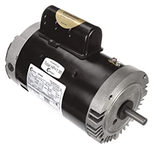 Pool Motor, 1-1/2 HP, 3450 RPM, 115/230VAC