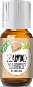 Cedarwood Essential Oil - 100% Pure Therapeutic Grade Cedarwood Oil - 10ml