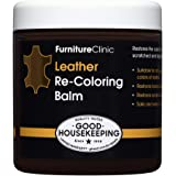 Furniture Clinic Leather Recoloring Balm (8.5 fl oz) - Leather Color Restorer for Furniture, Repair Leather Color on…