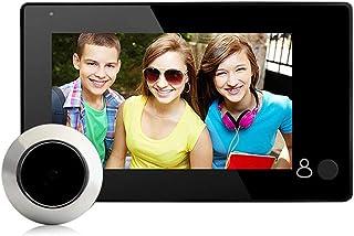 VBESTLIFE Schermo LCD TFT da 4.3 Pollici Smart Digital Door Peephole Viewer Telecamera 140 ° Wide Angle HD Telecamera Monitor