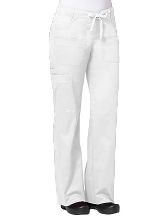c1661dc05b5 Amazon.com  Maevn Women s Utility Cargo Pants(White