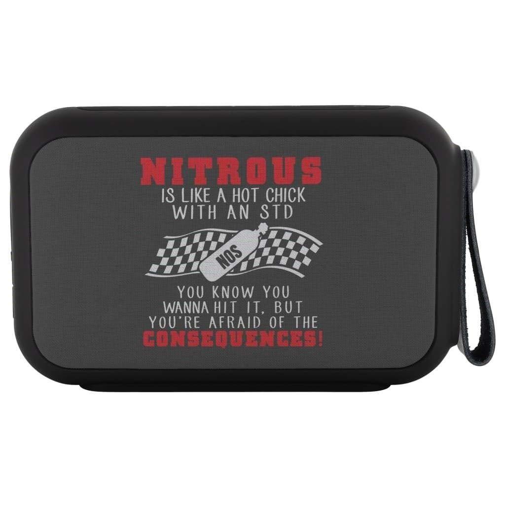 Nitrous Is Like A Hot Chick STD ワイヤレス Bluetoothスピーカー Thumpah防水スピーカー   B07KPRW6X3