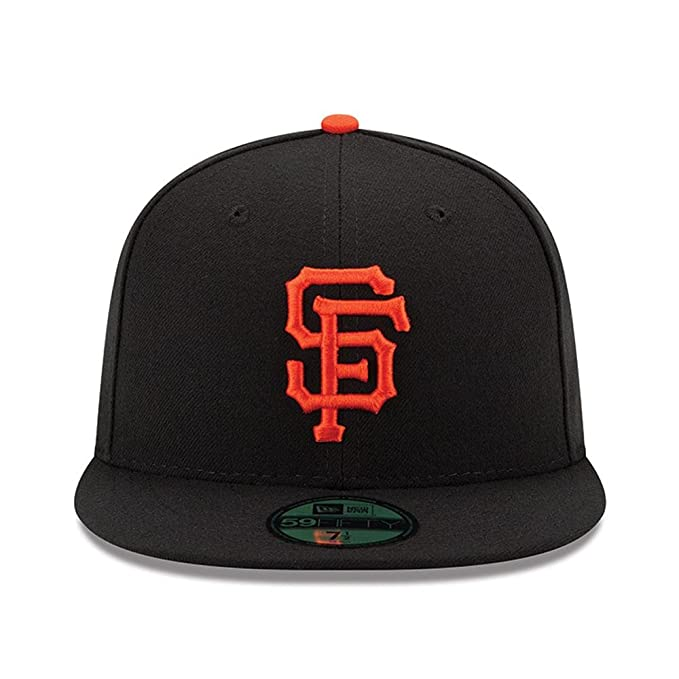 Amazon.com  New Era 59FIFTY San Francisco Giants Black MLB 2017 Authentic  Collection On Field Game Fitted Cap  Clothing af47a2a0a37f