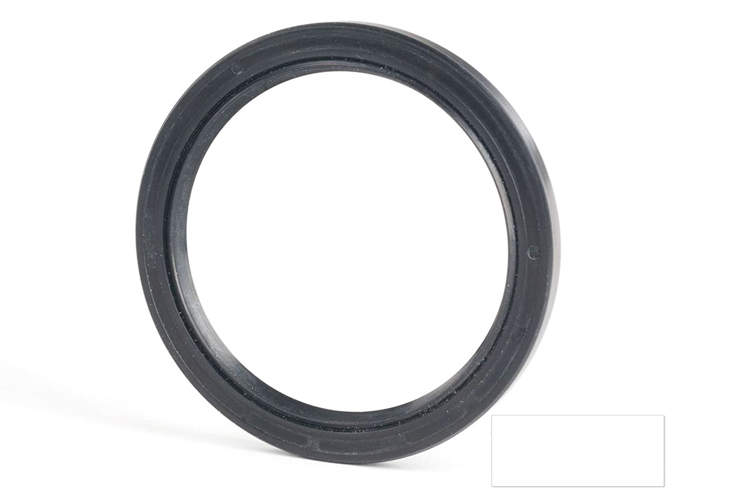 SKF 12x22x7mm Oil Seal Radial Double Lip Nitrile Rubber With Spring