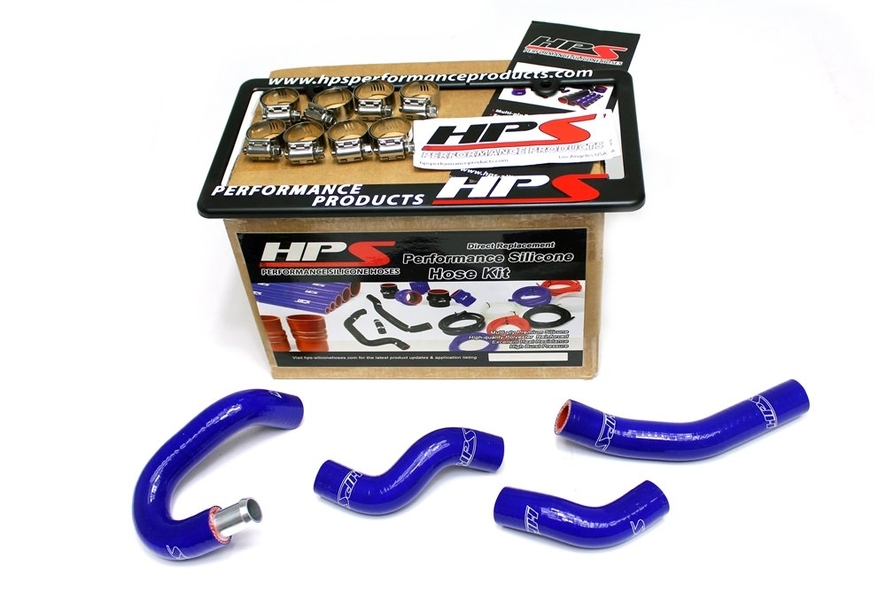 HPS 57-1436-RED Z33 Silicone Heater Hose Kit Coolant