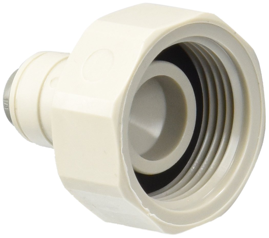 "John Guest CI320816S Female Connector, 1/4"" x 3/4"" BSPP (Pack of 10)"