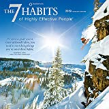 img - for The 7 Habits of Highly Effective People 2019 12 x 12 Inch Monthly Square Wall Calendar with Foil Stamped Cover by Plato, Self Help Improvement book / textbook / text book