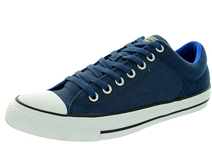 150caa56590b97 Converse Unisex Chuck Taylor High Street Basketball Shoe Converse Nav 11 B(M)  US Women   9 D(M) US Men  Buy Online at Low Prices in India - Amazon.in