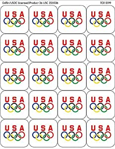 Teacher Created Resources Olympics Stickers, Multi Color (1399)