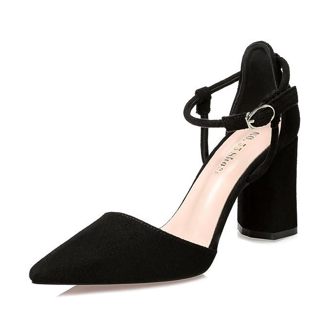 Fashion Dcollet Scarpe Donna Scarpe da sera tacco alto iuxj NERO 39
