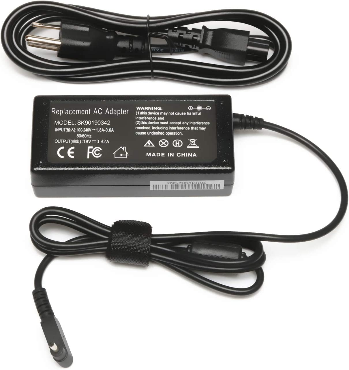 65W Ac Adapter/Laptop Charger/Power Supply for Acer Aspire 5 A515-54 A515-54G A515-55:A515-54-37U3 A515-54-55ZD A515-54-597W A515-54-79J5 A515-54G-73WC A515-54G-54QQ;A515-55-588C 55-56UK