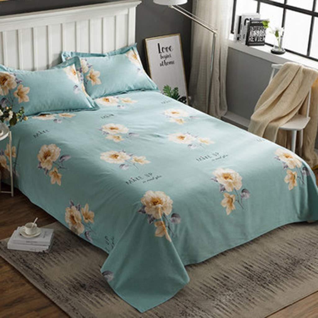 WSWJJXB Edredones de algodón Cepillado Láminas del Dormitorio Individuales Dobles engrosadas 1.2/1.35 m (Color : E, Size : 200X230cm): Amazon.es: Hogar