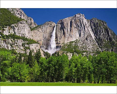 Media Storehouse 10x8 Print of Yosemite Falls, Yosemite Valley, Yosemite National Park, California, USA (19032476)