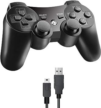 Imagen deJAMSWALL - Controlador para PS3 negro Negro