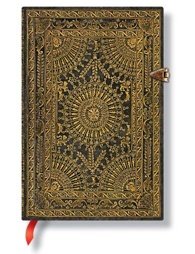 MARRONE Ventaglio Barock Paperblanks Midi Mini Notizbuch mit Seiten PB1922-0