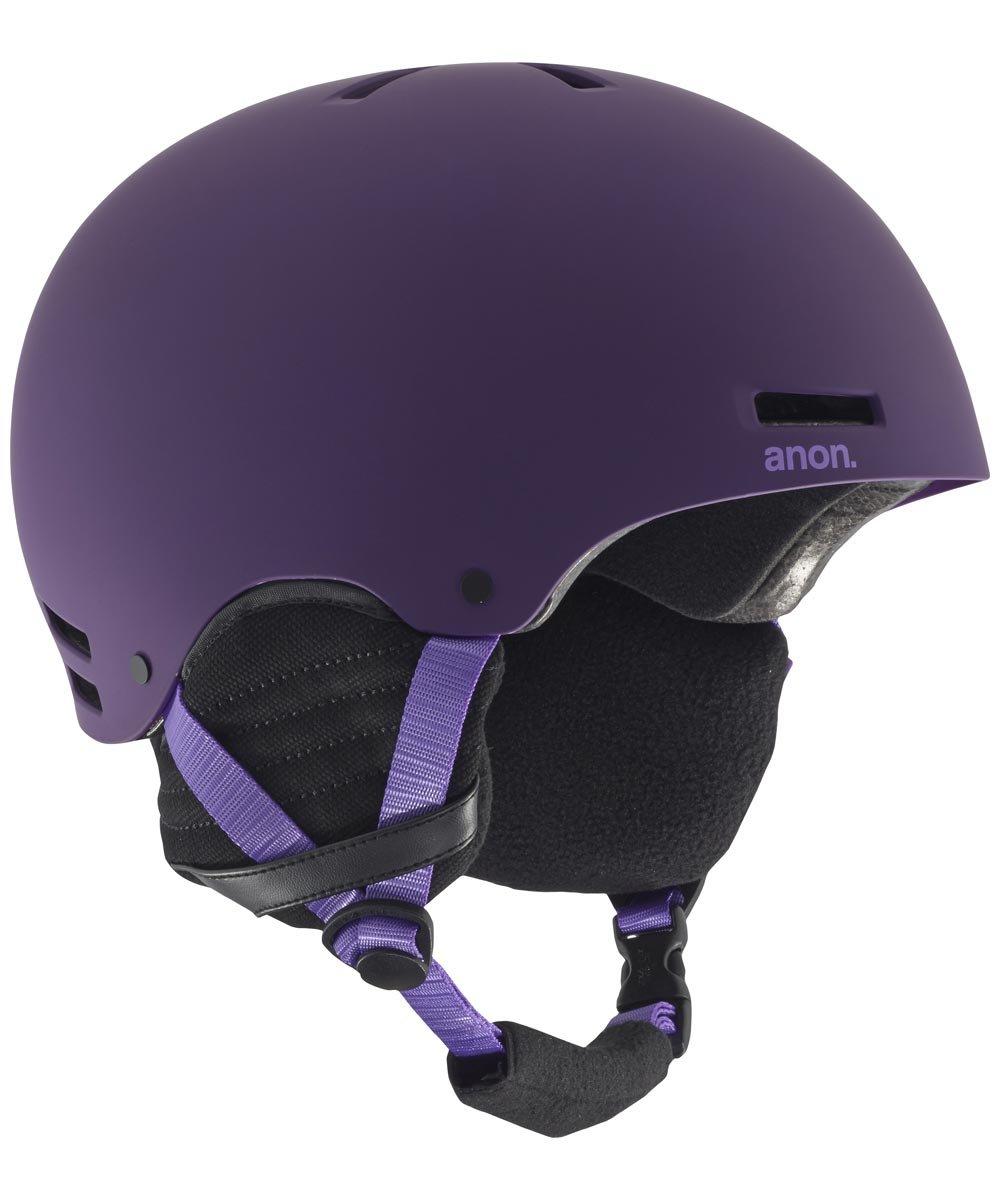 Anon Women's Greta Snow Helmet Imperial Purple Size Large 59-61cm by Anon