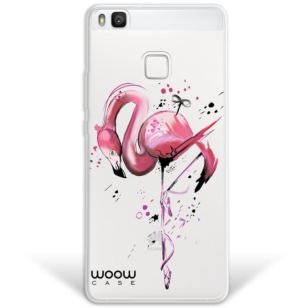 WoowCase Funda Huawei P9 Lite, [Hybrid] Flamenco Mecánico Case Carcasa [Huawei P9 Lite] Rígida Fabricada en Policarbonato y Bordes de TPU Silicona ...