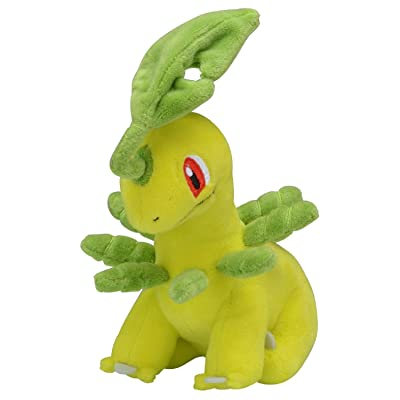 Pokemon Center Original Plush Doll fit Bayleef: Toys & Games