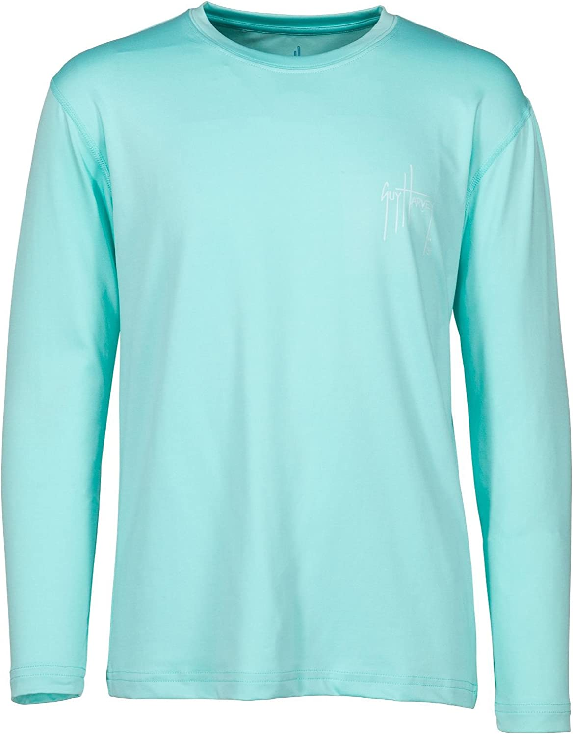 Guy Harvey Boys Chain Shot Long Sleeve Performance Shirt