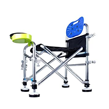 PIO Silla de pesca, silla de brazo al aire libre plegable taburete ligero portátil para picnic barbacoa esbozo de pesca: Amazon.es: Deportes y aire libre