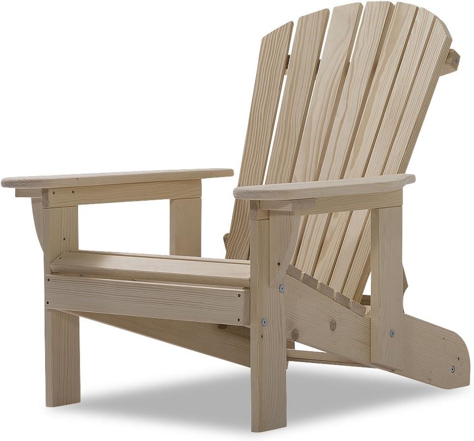 Original Dream-Chairs since 2007 Adirondack Chair Comfort Recliner Deckchair