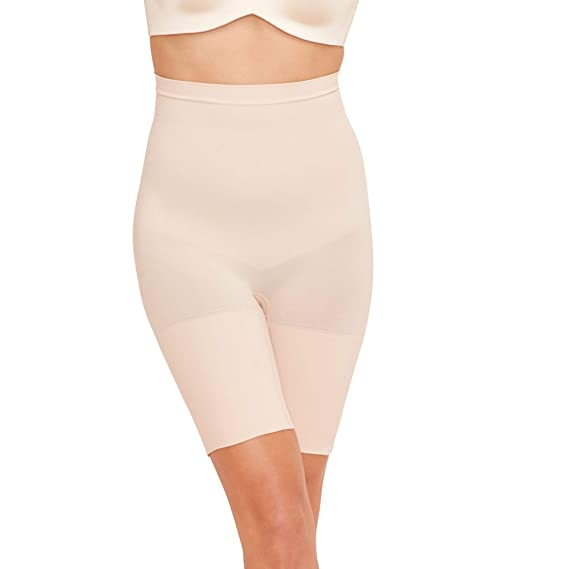 9c9695590a Spanx Womens Nude  Power Series  High-Waisted Shorts  Spanx  Amazon ...