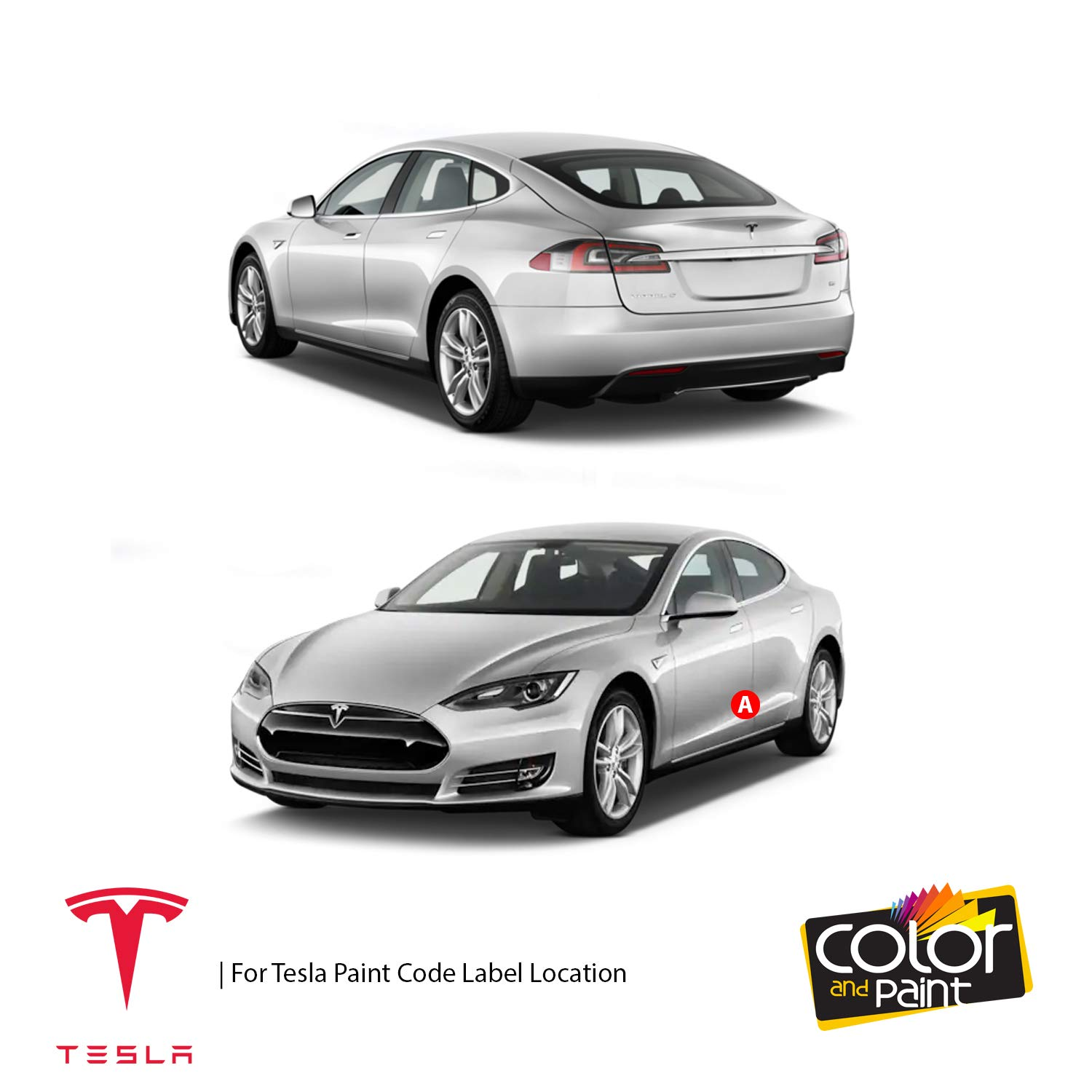 Amazon com: Tesla Model S/New RED Pearl - PPMR/Color and Paint Touch