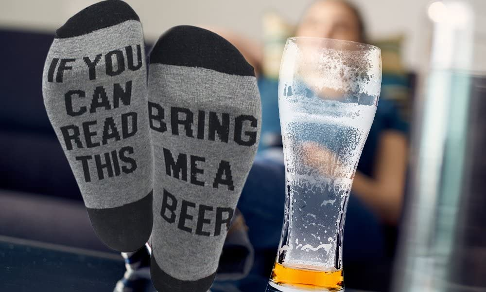 Funny Socks /'If You Can Read This Bring Me Gin/' Socks UK Seller First Class