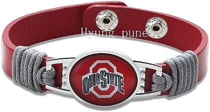 New Premium NCAA Ohio State Buckeyes Unisex Mens Womens Bracelet