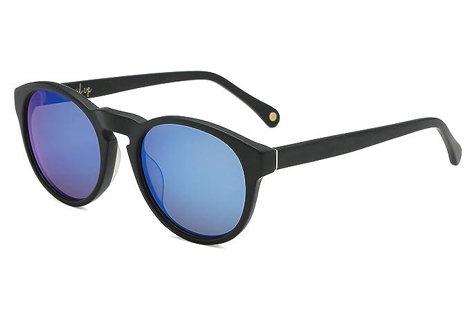 Amazon.com: MAREINE - Gafas de sol redondas para mujer KYROS ...