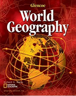 Geography the human and physical world student edition glencoe glencoe world geography student edition fandeluxe Images