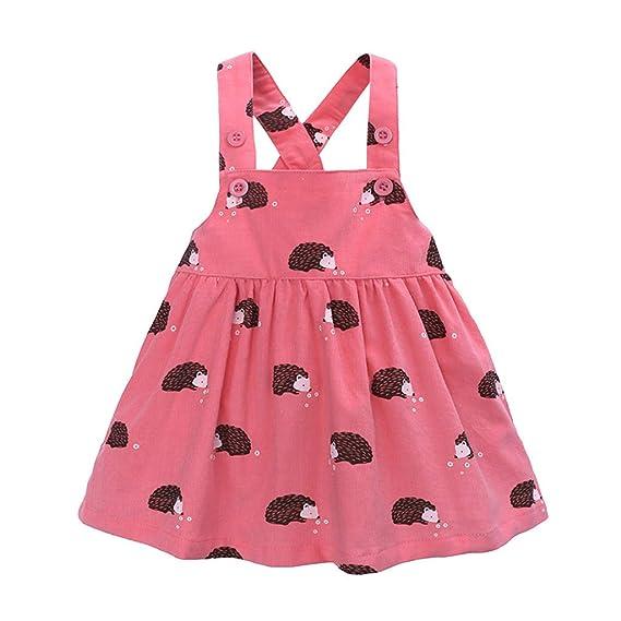Vestido para Bebés, ZARLLE Vestido Niña Vestido de Fiesta Sin Manga Princesa Falda Ropa de Bebe niña Verano 2019 Vestir 12meses-5 años: Amazon.es: Ropa y ...