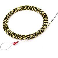 Extractor de cable, 6 mm 5 metros a 50 metros Dispositivo de guía del extractor de cable Fibra de vidrio Nylon Cable…